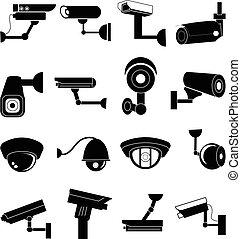 安全照像机, 集合, 圖象