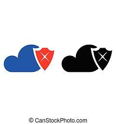 安全, 雲, 圖象
