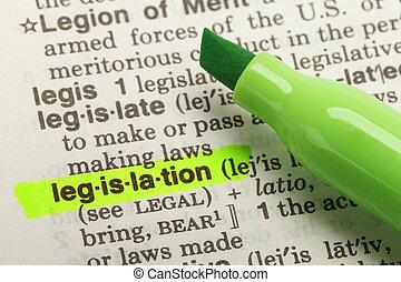 定義, 立法