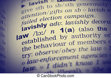 定義, 詞, 字典, effect., 法律, vignetting