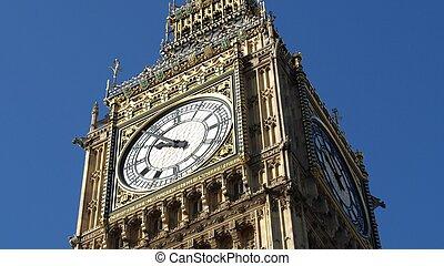 宮殿, ben, ratio), (16:9, -, westminster, 房子, 英國, 大, 議會, 倫敦
