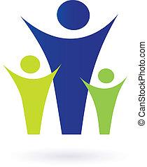 家庭, 社區, pictogram