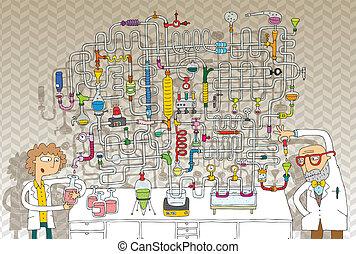 實驗室, 游戲, 迷宮