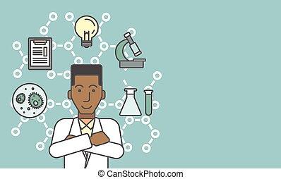 實驗室, assistant.