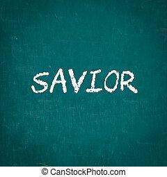 寫, 黑板, 救星