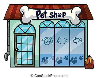 寵物, 商店