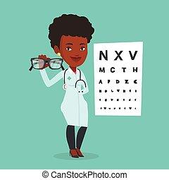 專業人員, eyeglasses., ophthalmologist, 藏品