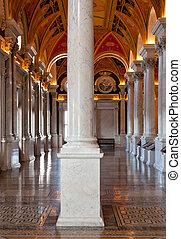 專欄, 圖書館, 華盛頓特區, 國會