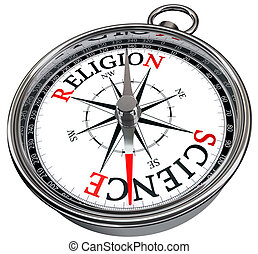 對, 概念, 宗教, 科學