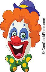 小丑, 臉