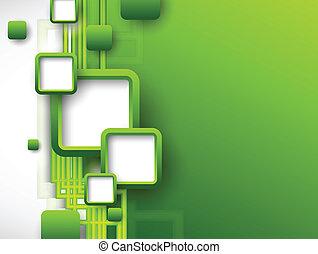 小冊子, 摘要, 綠色