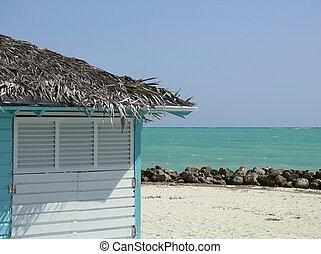小屋, 海灘