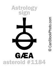 小行星, astrology:, gaea