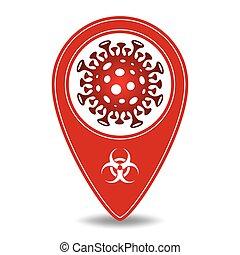 小說, 指針, 符號。, 光環, 地圖, 病毒
