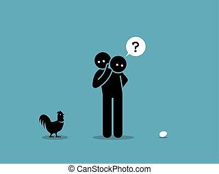 小雞, egg., 或者