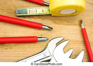小, 工具, diy, 維護
