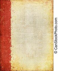 屏幕, 圖案, 紅色, 邊際