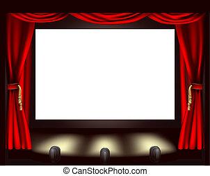屏幕, 電影院