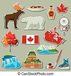屠夫, 加拿大, 圖象, set.