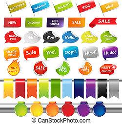 屠夫, 集合, 標籤, 銷售