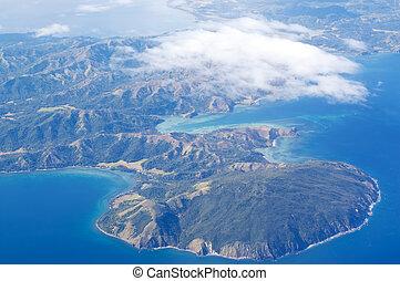 島, 空中的觀點