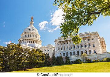 州議會大廈, 我們, 小山
