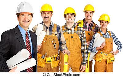 工人, 人們