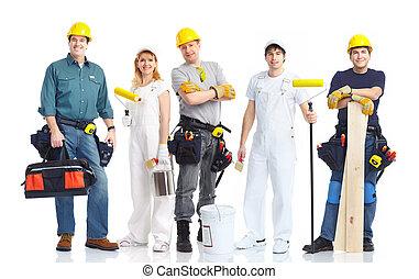 工人, 承包商