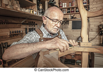 工作, 木匠