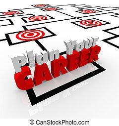 工作, 職業, 位置, 圖表, 瞄準, 計劃, org, 你