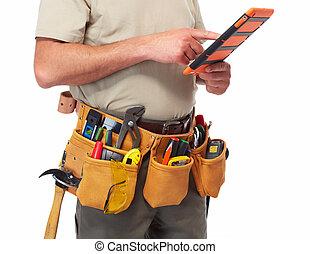 工具, 做零活的人, belt.