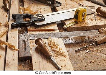 工具, 木匠
