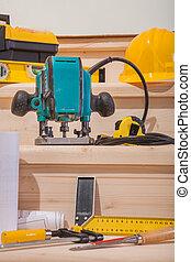 工具, 木材加工, 集合