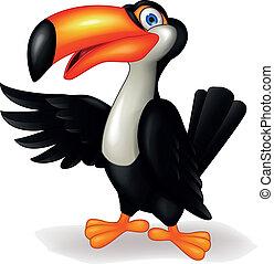 巨嘴鳥, 鳥, 卡通