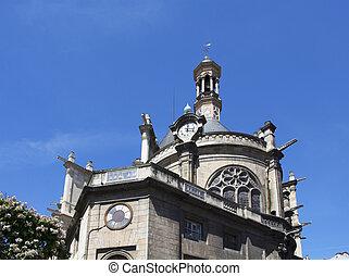 巴黎, 傳統, 看法, 老教堂