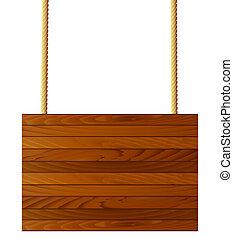 布朗, 木 紋理