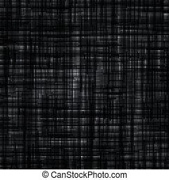 帆布, 黑色