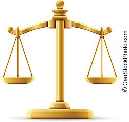 平衡, 公正規模