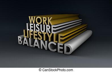 平衡, 生活方式