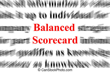 平衡, scorecard