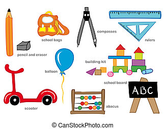 幼儿園, 玩具