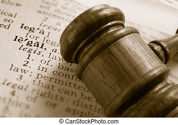 庭院, 定義, 法律, 人物面部影像逼真, 上面, 木槌