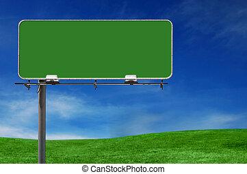 廣告欄, 高速公路, 戶外, 廣告簽署