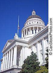 建築物, 加利福尼亞, 州議會大廈