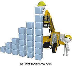 建築物, 商業界人士, 圖表, 設備, 建設