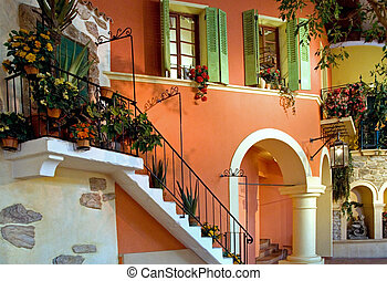 建築物, 地中海