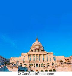 建築物, 州議會大廈, 國會, 華盛頓特區, 我們