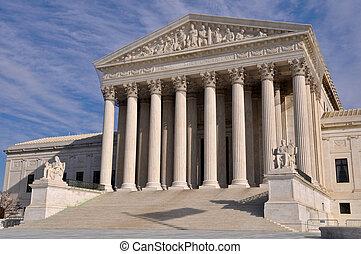 建築物, 最高法院, 華盛頓特區, 我們