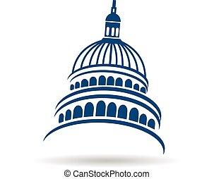 建築物, 標識語, 州議會大廈