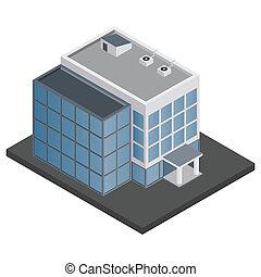 建築物, 等量, 辦公室